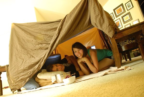 Can One Build Too Many Forts In The Living Room