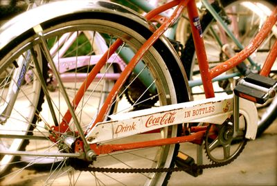 Folding Tandem Bicycle on Loving This Vintage Coca Cola Bike  Parked Right Around The Corner